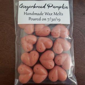 Gingerbread Pumpkin Wax Melts 12 hearts